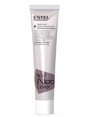 Цветной ламинирующий 3D-гель для волос STEP2.2 ESTEL iNeo-Color 60 мл CR/76 Легкий флирт