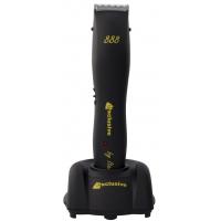 Машинка для стрижки Exclusive 888/ч(40) аккумуляторно-сетевая, нож 40 мм, цвет черный, 4 насадки. Мощность 7 Watt
