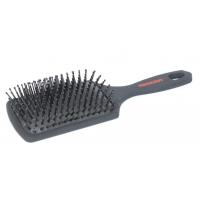 Щетка-лопата Toni Guy 170-13A. Нейлоновые зубцы, велюровая ручка Soft Touch, мягкая массажная воздушная подушка