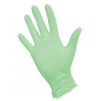 Перчатки нитриловые зеленые S, 100 штук (50 пар) KLEVER