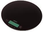 Круглые весы электронные NS005 для взвешивания красок для волос и химических препаратов, максимальный вес 3 кг, цена деления 1г, цвет черный, диаметр 18.5 см, DEWAL (Германия)