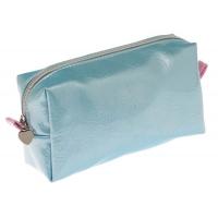 Косметичка Dewal Beauty Морской бриз BG-145 голубая с розовым, размер 19х10х6 см, DEWAL (Германия)