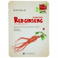 Маска с экстрактом женьшеня S+Miracle Red Ginseng Essence Mask