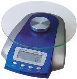 Весы электронные NS00013 для взвешивания красок для волос и химических препаратов, максимальный вес 3 кг, цена деления 1г, цвет синий, DEWAL (Германия)