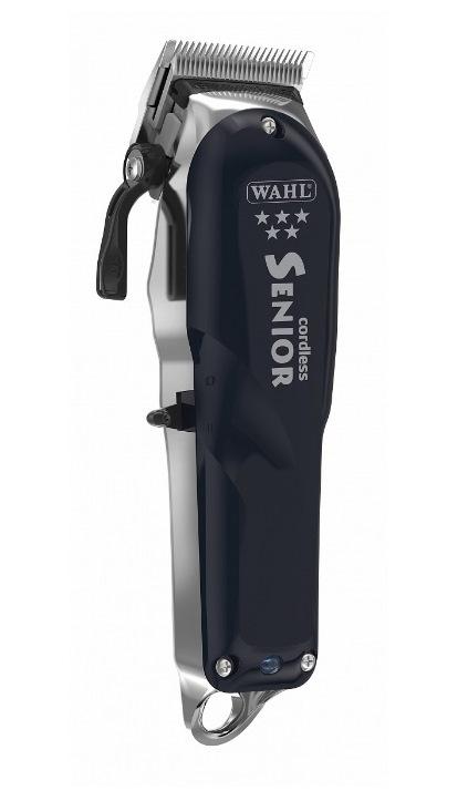 Машинка WAHL 8504-016 Senior Cordless Ночное небо 5-Star. Комбинированная 6500 оборотов, нож 46 мм, срез 1-3.5 мм, 365г, WAHL (США). Журнал HAIRs 208 Мужской клуб в ПОДАРОК!