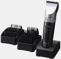 PANASONIC ER-1512. Машинка профессиональная аккумуляторно-сетевая, съемный регулируемый нож (0,8-2 мм), лезвие с титаново-нитридным напылением, второе-карбоновое, 3 двустор. насадки (3/4-6/9-12/15 мм), арт 02152, PANASONIC (Япония)