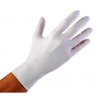 Перчатки виниловые бесцветные XS, 100 штук (50 пар) Одноразовые, ПВХ неопудренные, нестерильные
