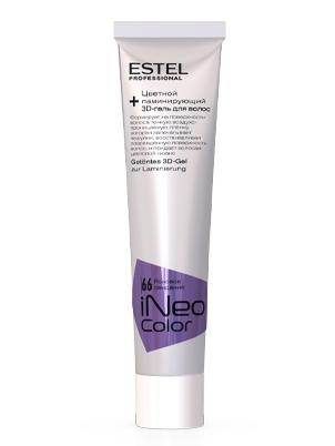 Цветной ламинирующий 3D-гель для волос STEP2.2 ESTEL iNeo-Color 60 мл CR/66 Роковое свидание