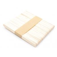 Шпатель Узкий деревянный одноразовый 10x110 мм, упаковка 50 штук