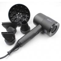 Фен-молоток Master MP-313 Scirocco Ceramic 1800 Вт с ионизацией. Цвет черный, переключатель сзади, вес 530 г, 3 насадки и диффузор. Гарантия 12 месяцев