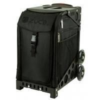ZUCA Sport Stealth/Black. ZUCA (США) Cумка-сиденье на колесах. Черный чехол Stealth, черная рама. 4 Большие прозрачные фирменные косметички ПРОФМАГАЗИН.РФ в ПОДАРОК