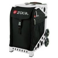 ZUCA Sport Obsidian/White. ZUCA (США) Cумка-сиденье на колесах. Черный чехол Obsidian, белая рама. 4 Большие прозрачные фирменные косметички ПРОФМАГАЗИН.РФ в ПОДАРОК